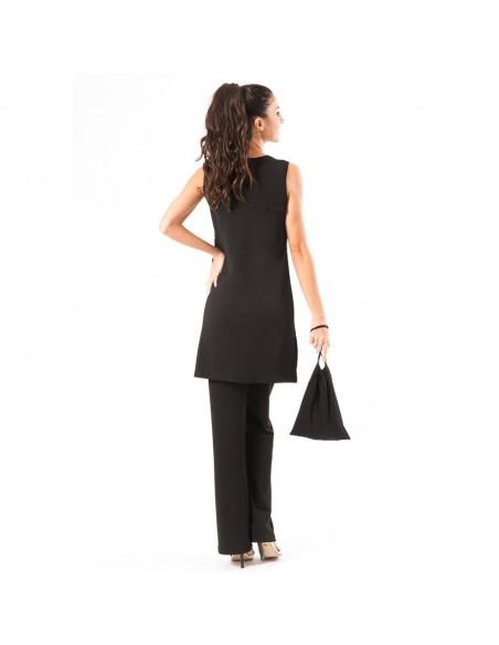 Suit V Neck sleeveless essential dress