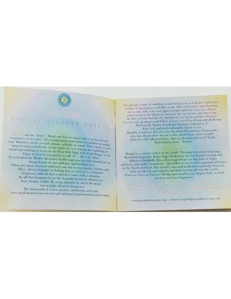 Jay Guru - CD mantra e breve meditazione guidata