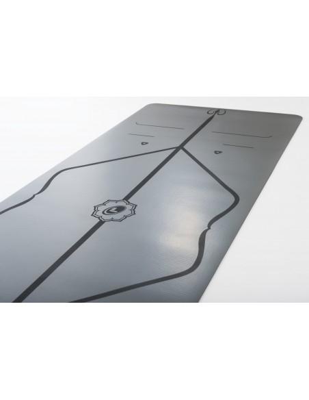 Esterilla de Yoga Liforme con soporte original INCLUIDO - Gris