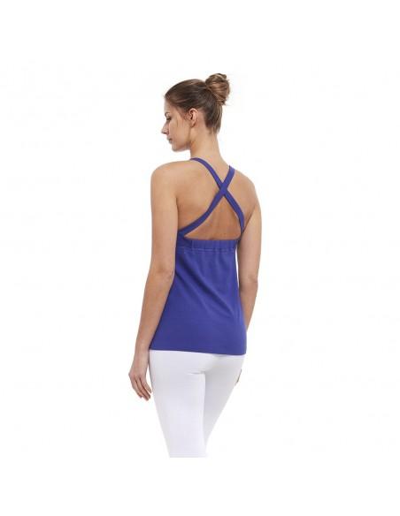 Camiseta sin mangas ajna indigo - Chakra