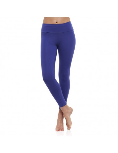 Leggings Yoga Lungo Fascia Alta Indaco AJNA - Chakra