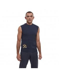 Tank - yoga man cotton