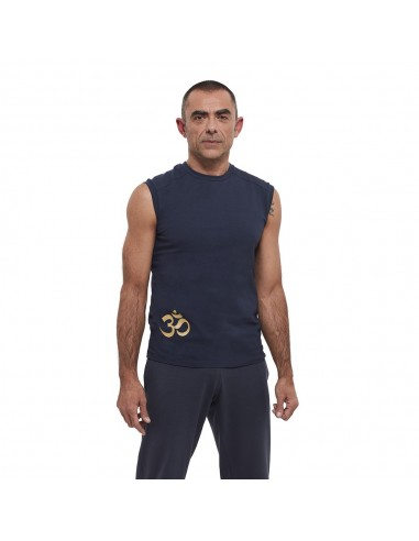 Tank - yoga man cotton