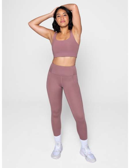 High-Rise Legging Lungo - (Rosa) - Girlfriend Collective