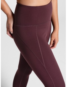 Leggings Vita Alta (Cocoa) - Girlfriend Collective