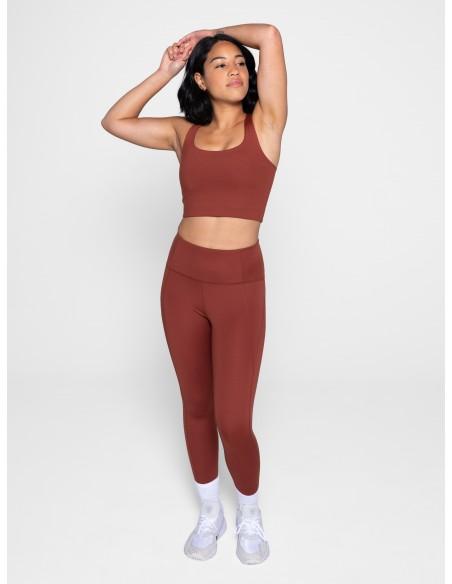 High-Rise Legging (Sedona) - Girlfriend Collective