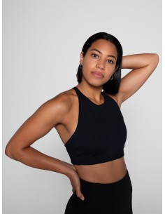 Topanga Bra (Black) - Girlfriend Collective