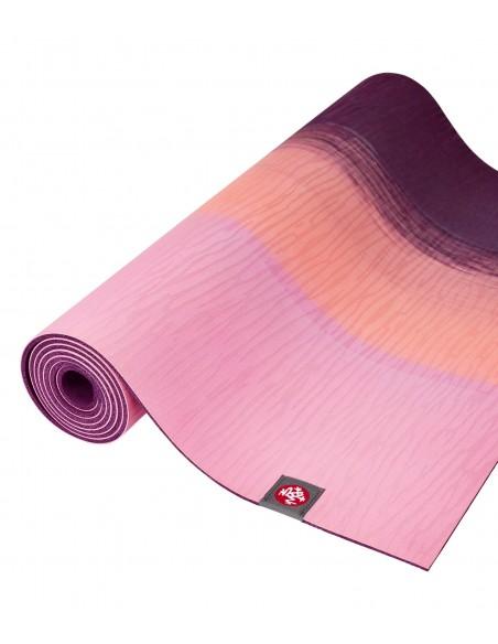 Manduka eKO Lite Yoga Mat - Fuchsia Stripe