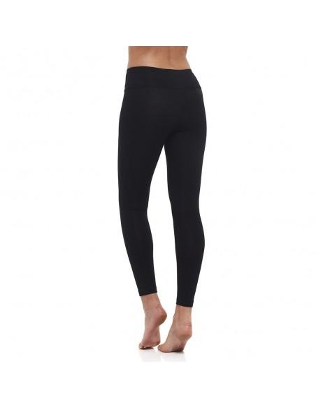 Cintura alta - Leggings negros de yoga - Yoga Essential