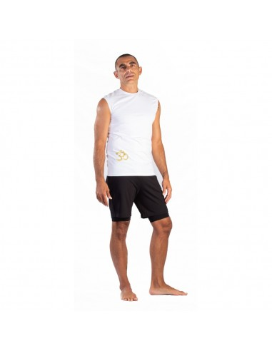Men's yoga top in cotton